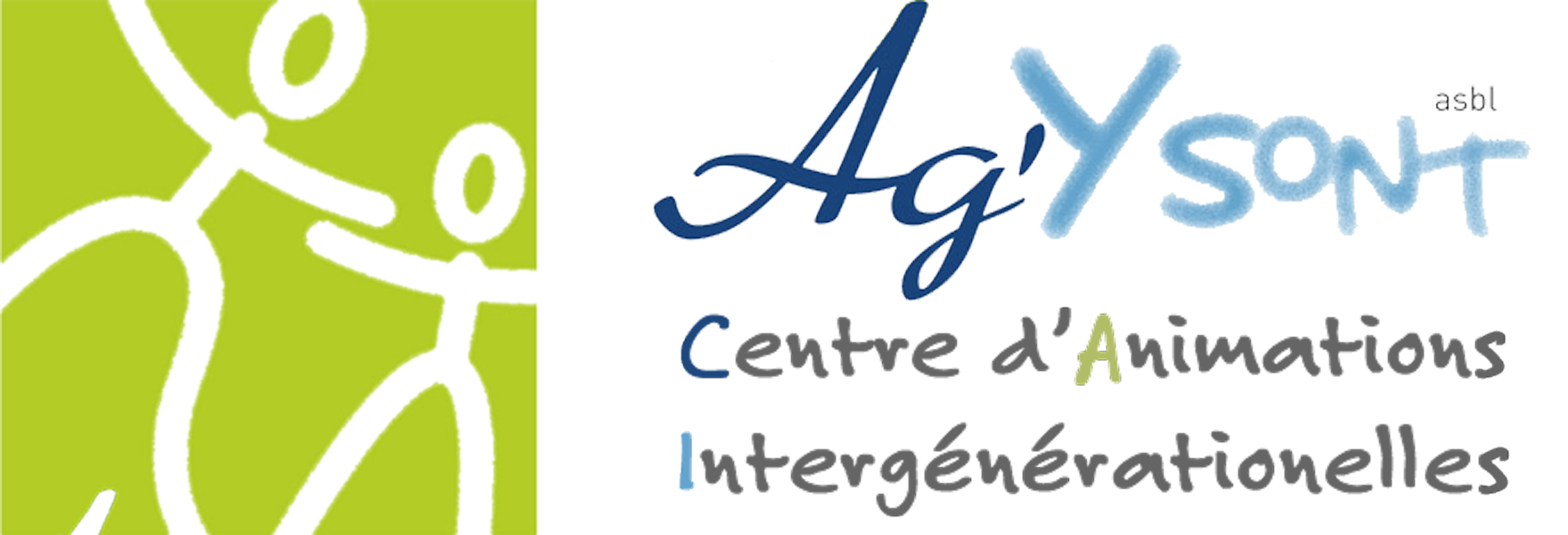 Ag 'Y Sont asbl – Centre d'animations intergénérationnelles Mobile Retina Logo